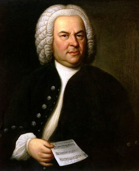 Portrait of JS Bach